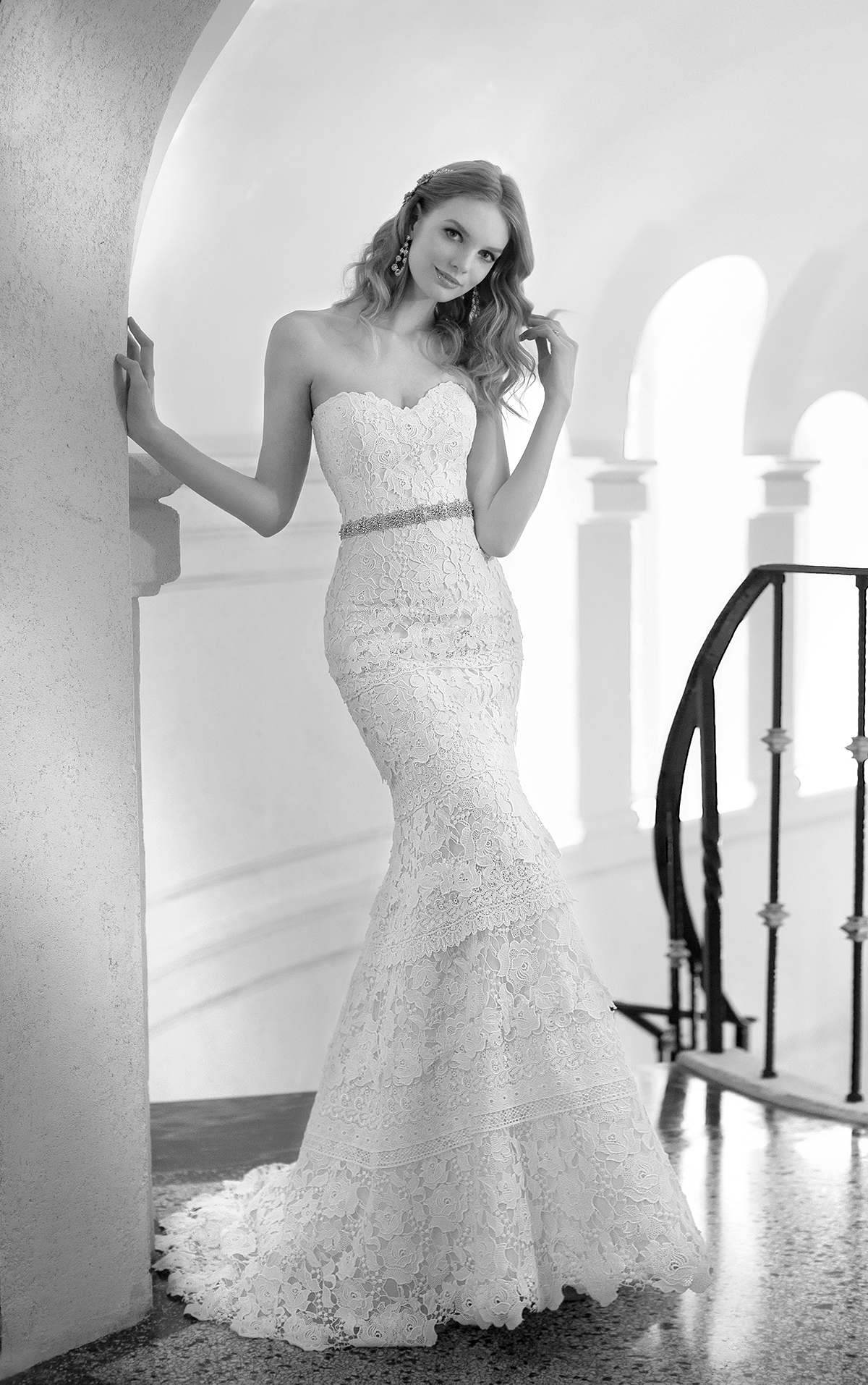 Embroidery detailing, crystal beaded appliques, stunning silhouettes ...