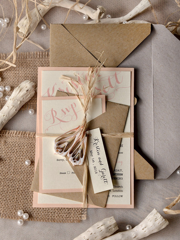 Rustic Wedding Invitation 18 06142014nz