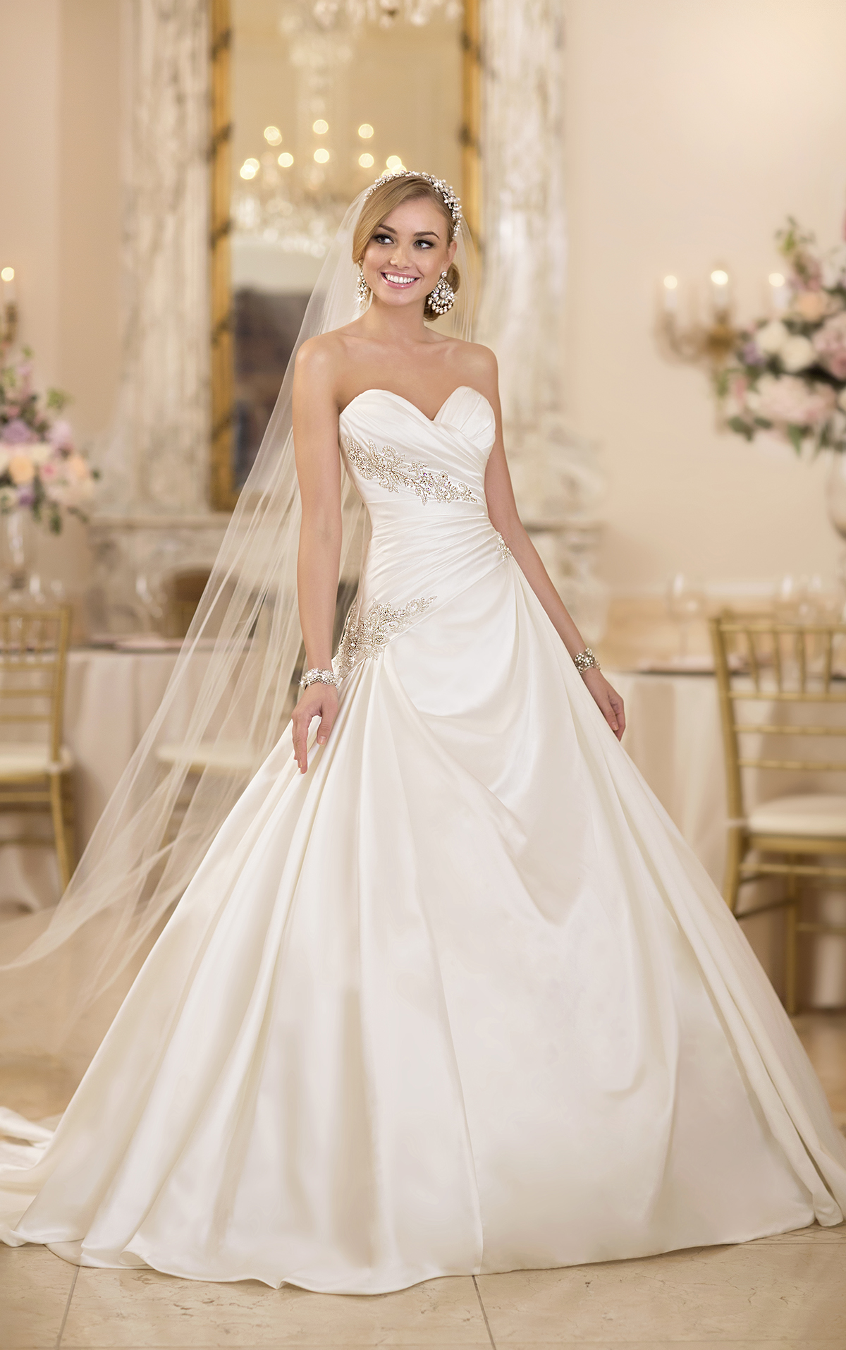 Extravagant stella york wedding dresses modwedding for Wedding dress shops york