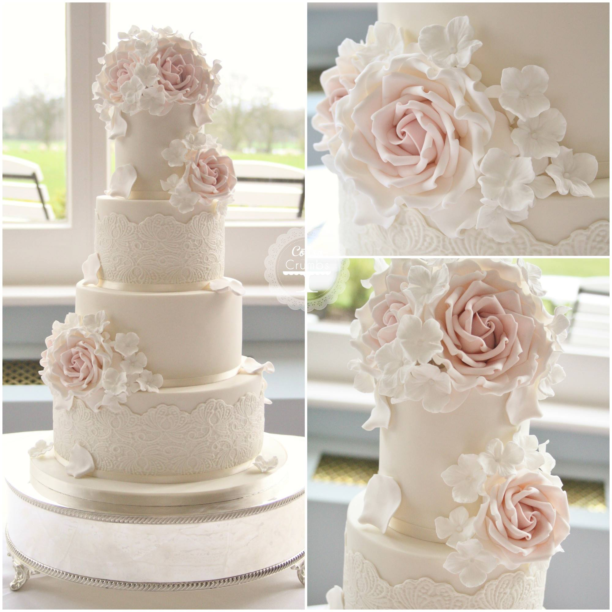 Wedding Cakes With Exceptional Details - MODwedding