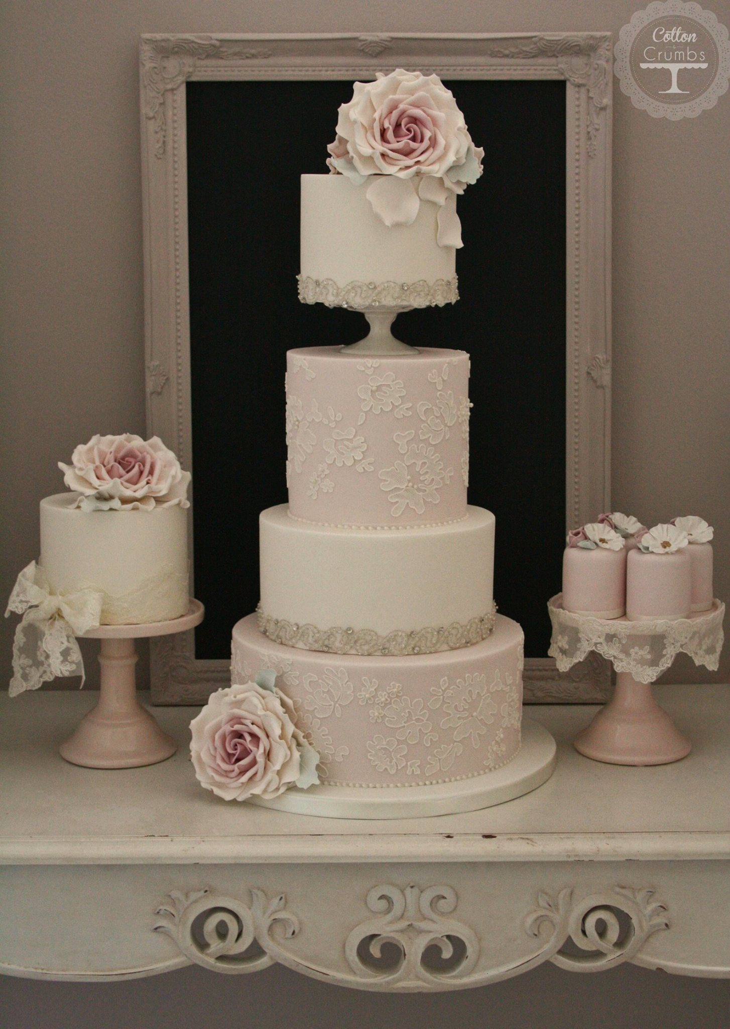 Wedding Cakes With Exceptional Details MODwedding