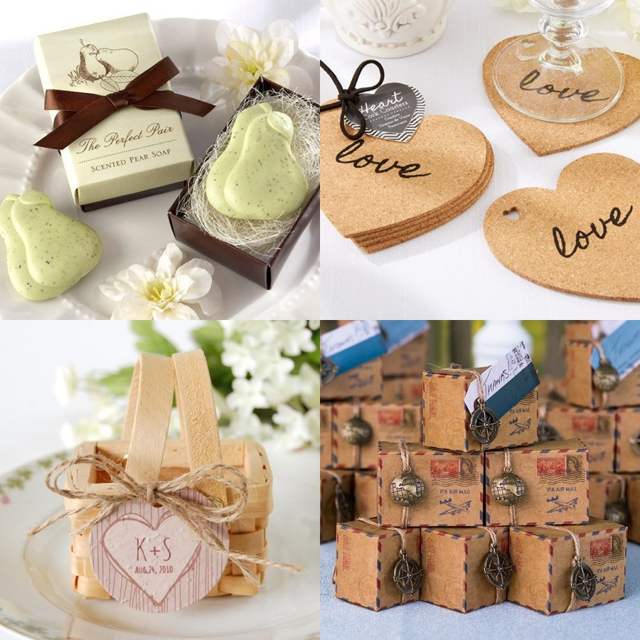 Unique Ideas For Wedding Favours: Creative Wedding Favors