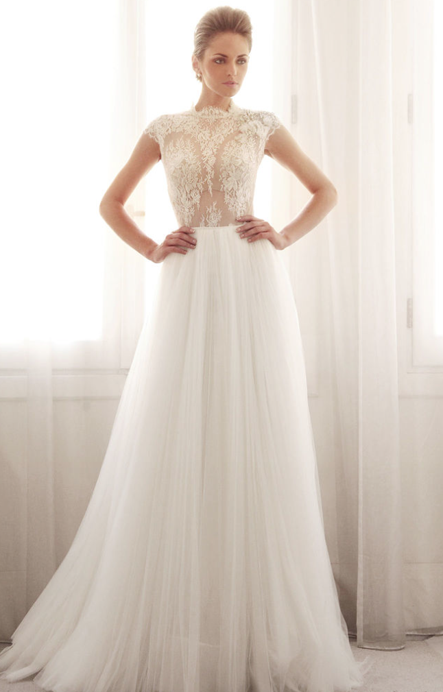 gemy maalouf wedding dresses 2014 modwedding