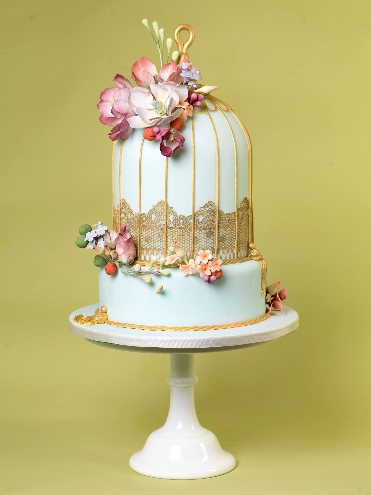 bird cage wedding cake daily wedding cake inspiration new modwedding 11776