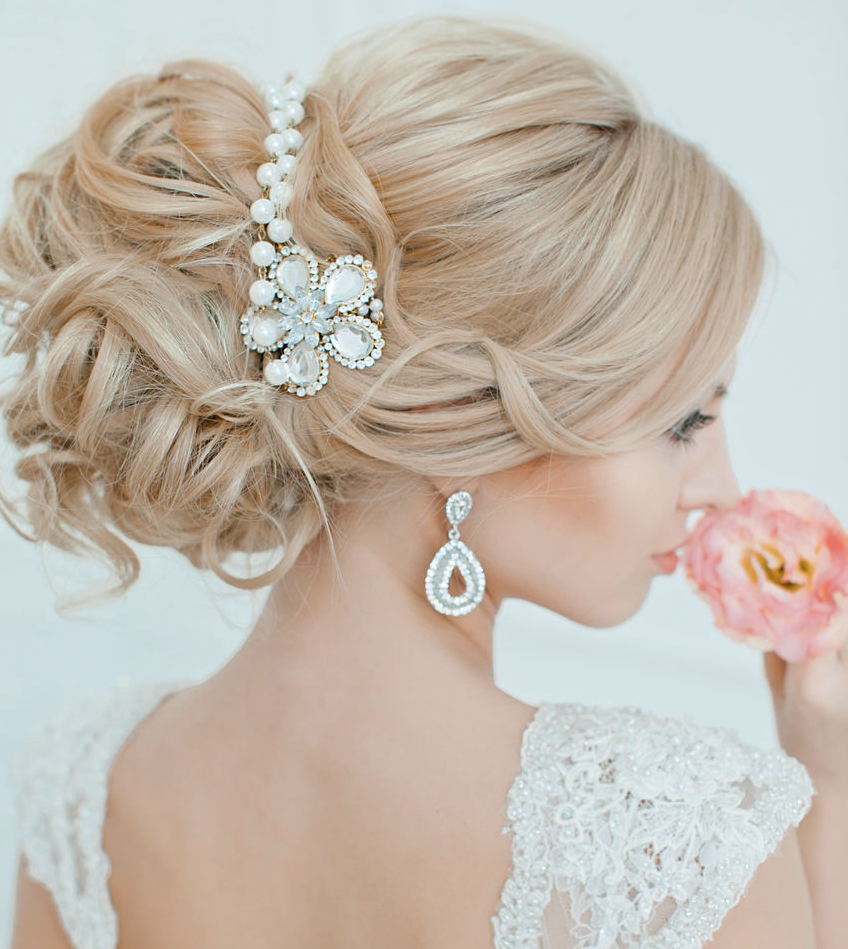 Hairstyle Ideas For Wedding: Effortlessly Chic Wedding Hairstyle Inspiration