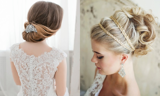 Hairstyle Wedding 2014: Effortlessly Chic Wedding Hairstyle Inspiration