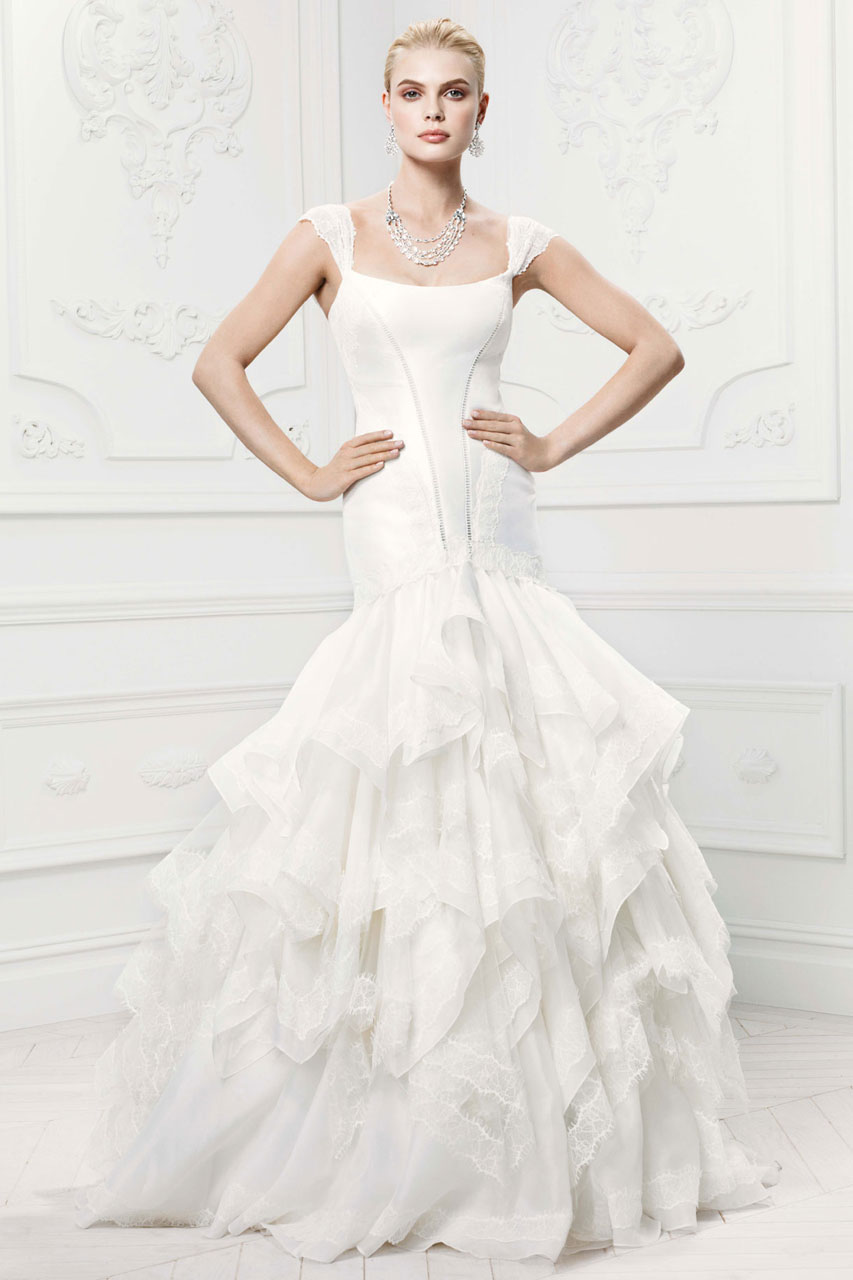 Zac Posen Wedding Dresses for David\'s Bridal - MODwedding