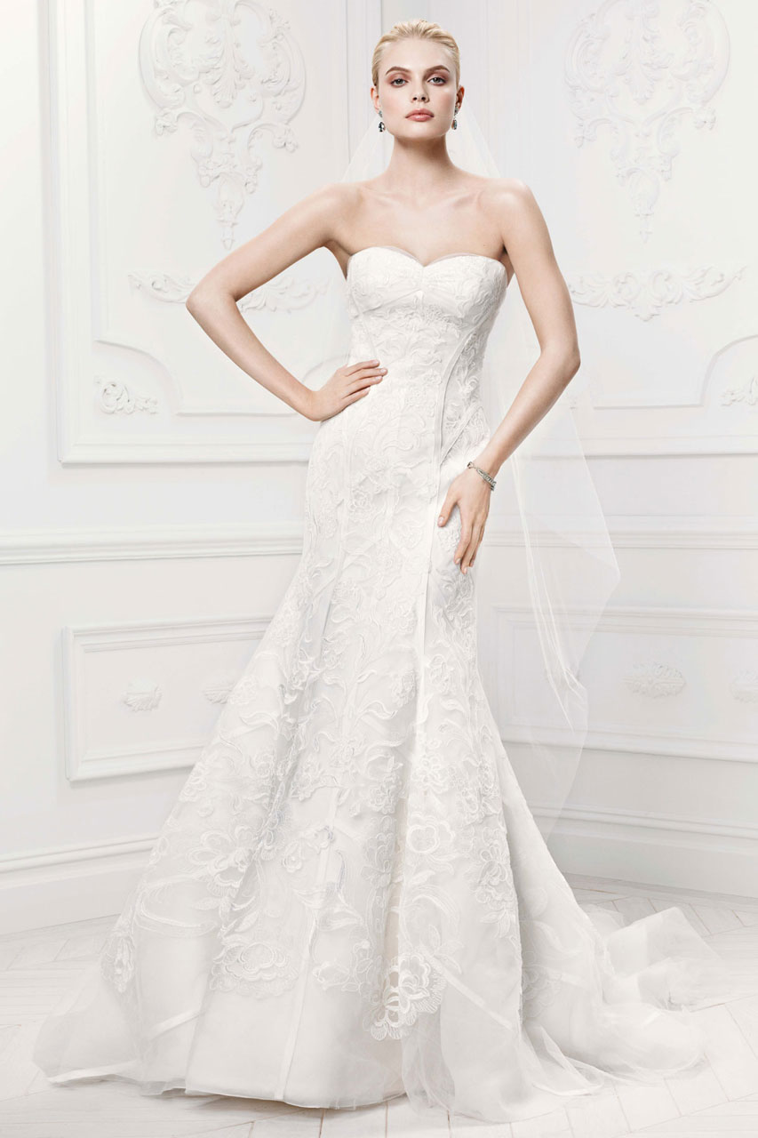 Zac posen wedding dresses for david 39 s bridal modwedding for Zac posen wedding dress price