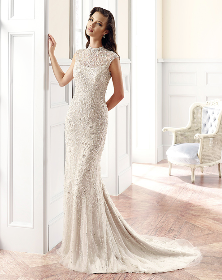 Eddy K Wedding Dresses with Italian Sophistication - MODwedding