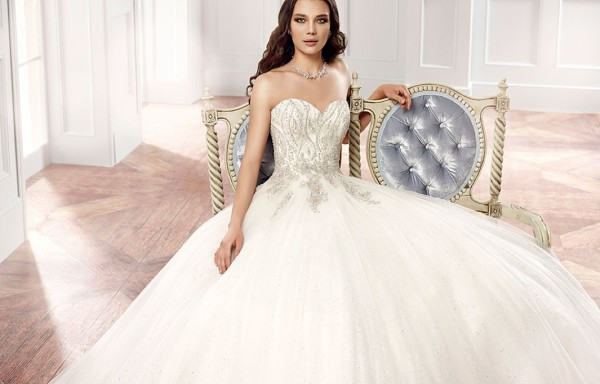 Editor's Pick: The Couture Collection of Eddy K Wedding Dresses with Italian Sophistication