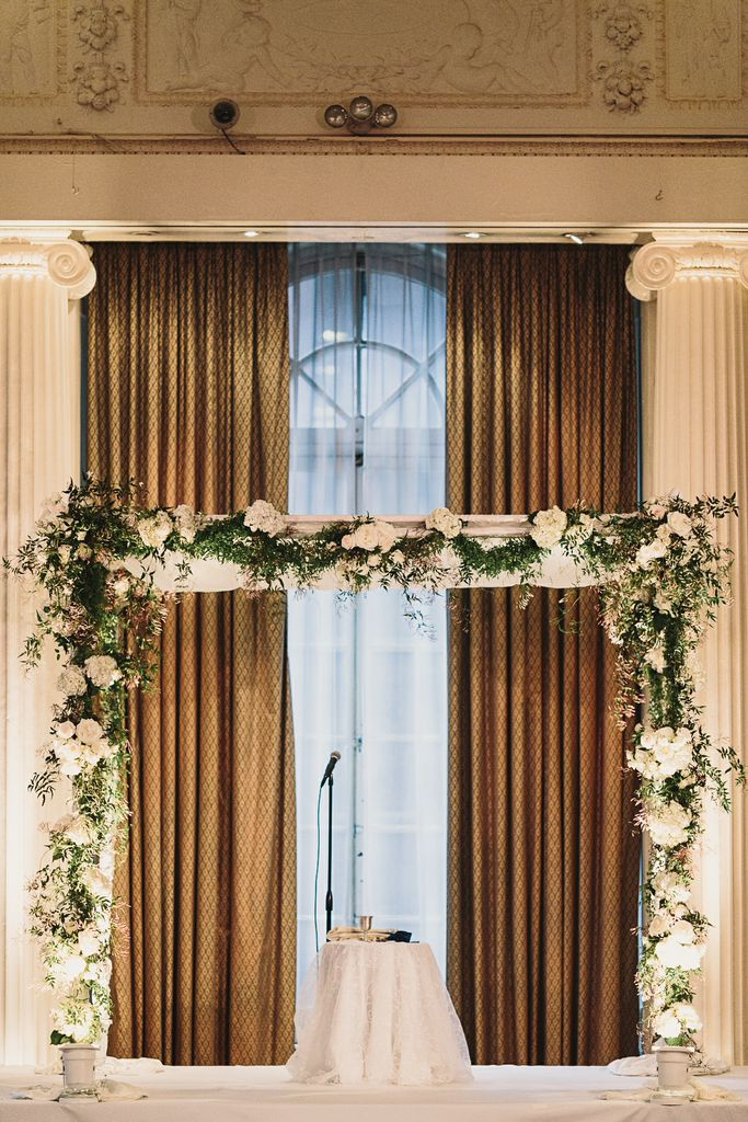 First Class Wedding At The Yale Club Of New York City