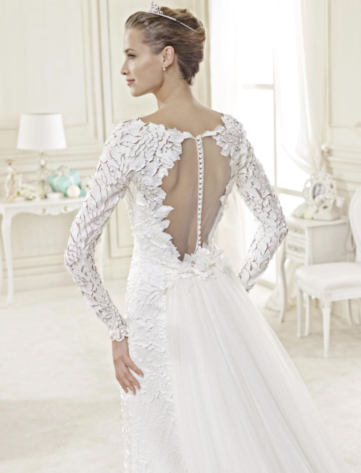 2015 Fall Wedding Dresses nicole spose wedding dress