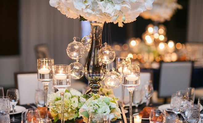 Non traditional wedding centerpieces from erganic design amp living