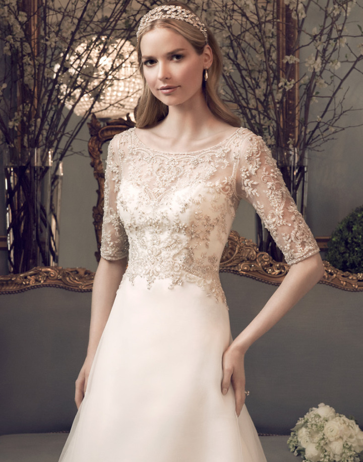 Timeless Casablanca Wedding Dresses 2014 - MODwedding