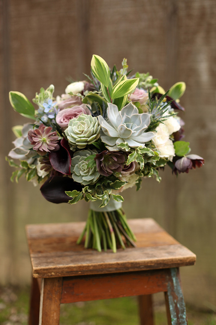 Lavish unique bridal bouquet ideas modwedding for Bridal flower bouquets ideas