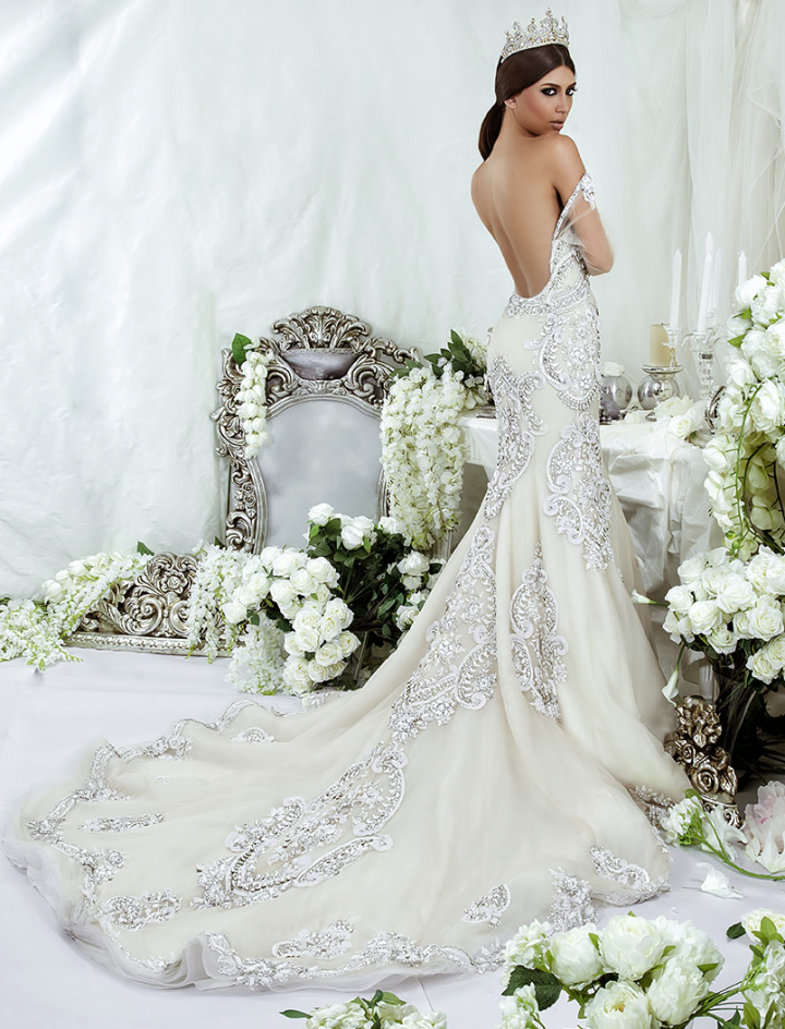 Wedding Dresses With Crystals : Dar sara wedding dresses collection modwedding