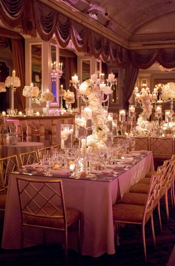 Breathtaking New York Wedding With Ballroom Glamour Decor