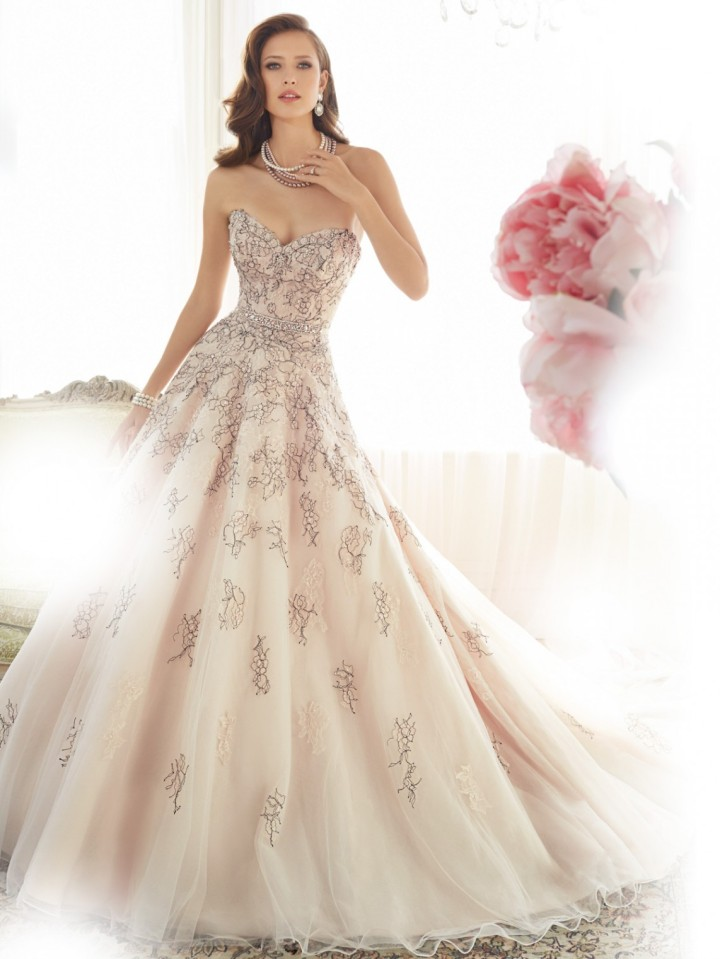 Glamorous Sophia Tolli Wedding Dresses 2015 - MODwedding