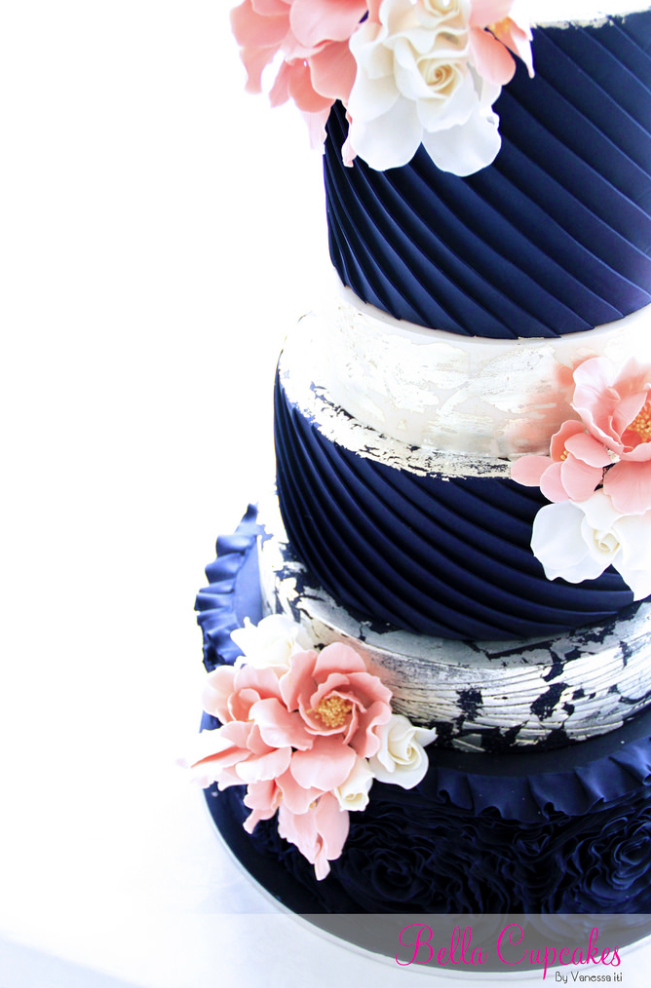 Stunning Pink And Blue Wedding Cakes Photos - Styles & Ideas 2018 ...