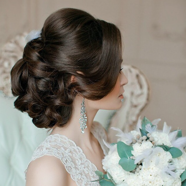 Prettiest Wedding Hairstyle