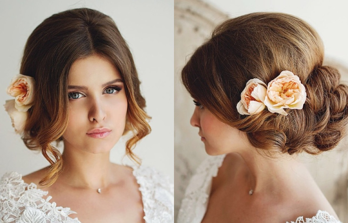 Beautiful Bridal Hairstyle For Long Hair: 28 Prettiest Wedding Hairstyles