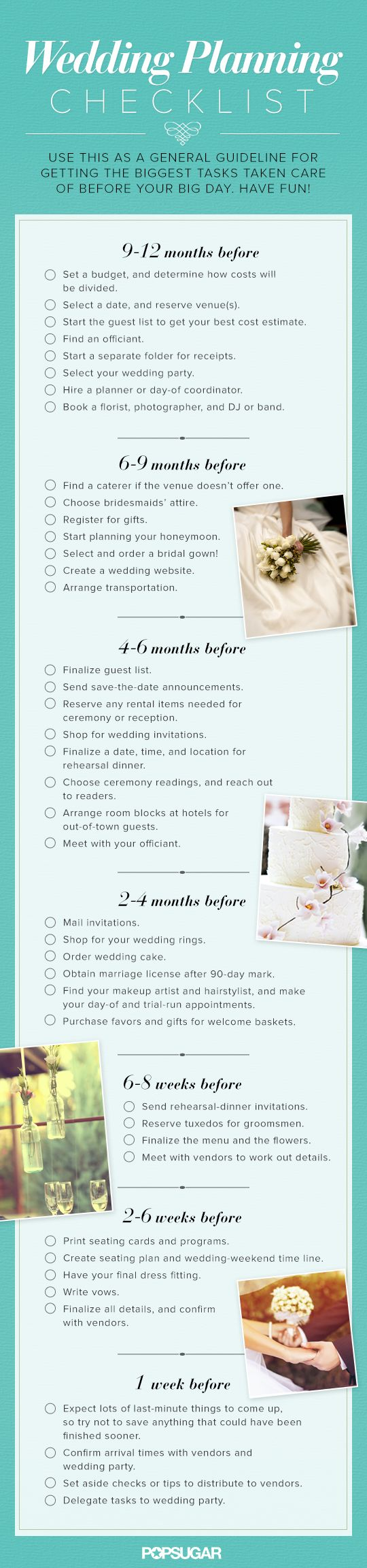 Top 5 wedding planning checklists to keep you on track for What to know about planning a wedding