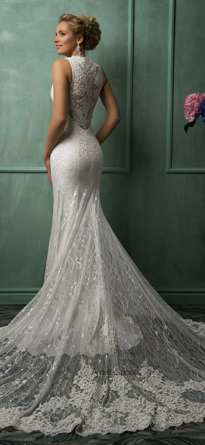 The most flattering wedding dresses modwedding for Amelia sposa wedding dresses