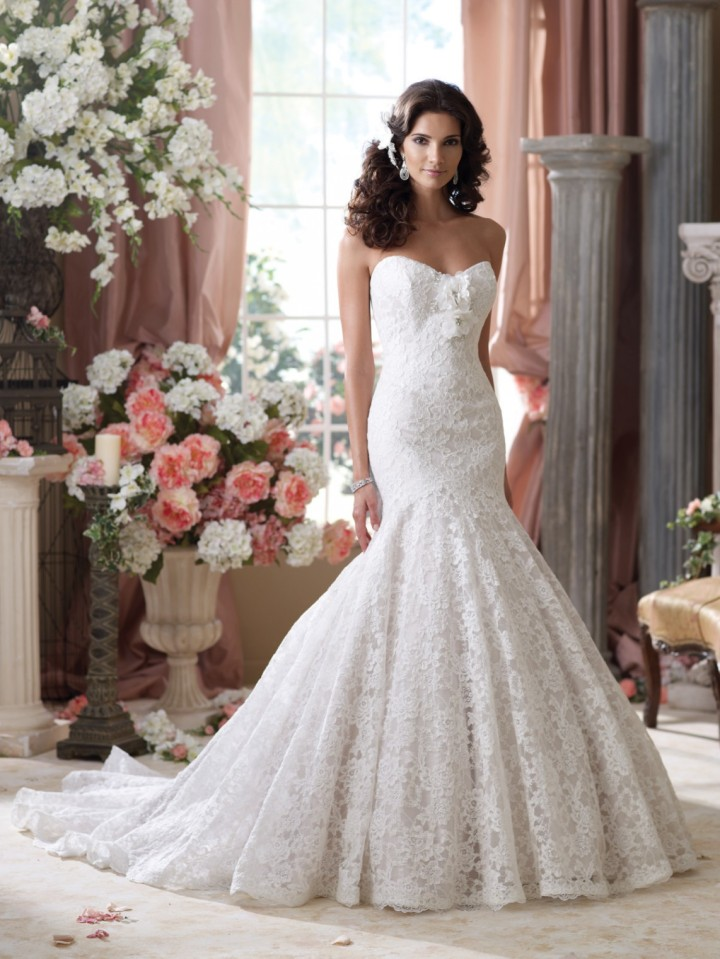 25 The Most Gorgeous Wedding Dresses - MODwedding