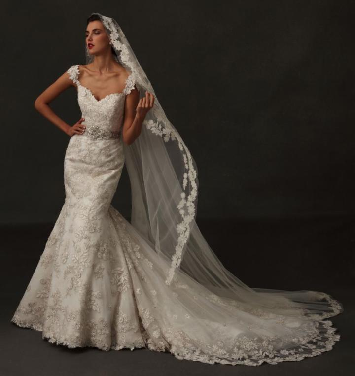 Eve of Milady Wedding Dresses with Vintage Glam
