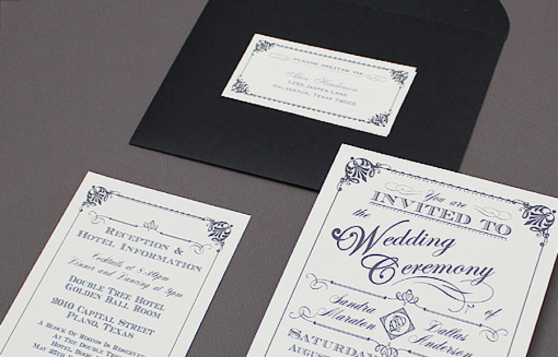 Jaw-Dropping Pretty Wedding Invitations - MODwedding