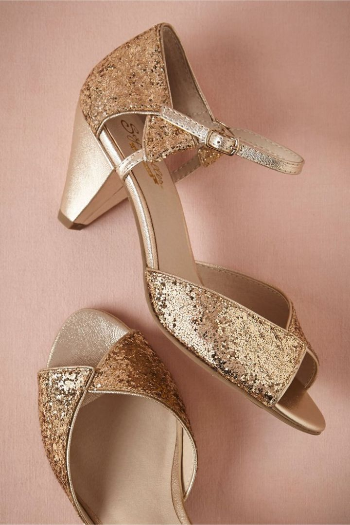 Copper Colored Wedding Shoes