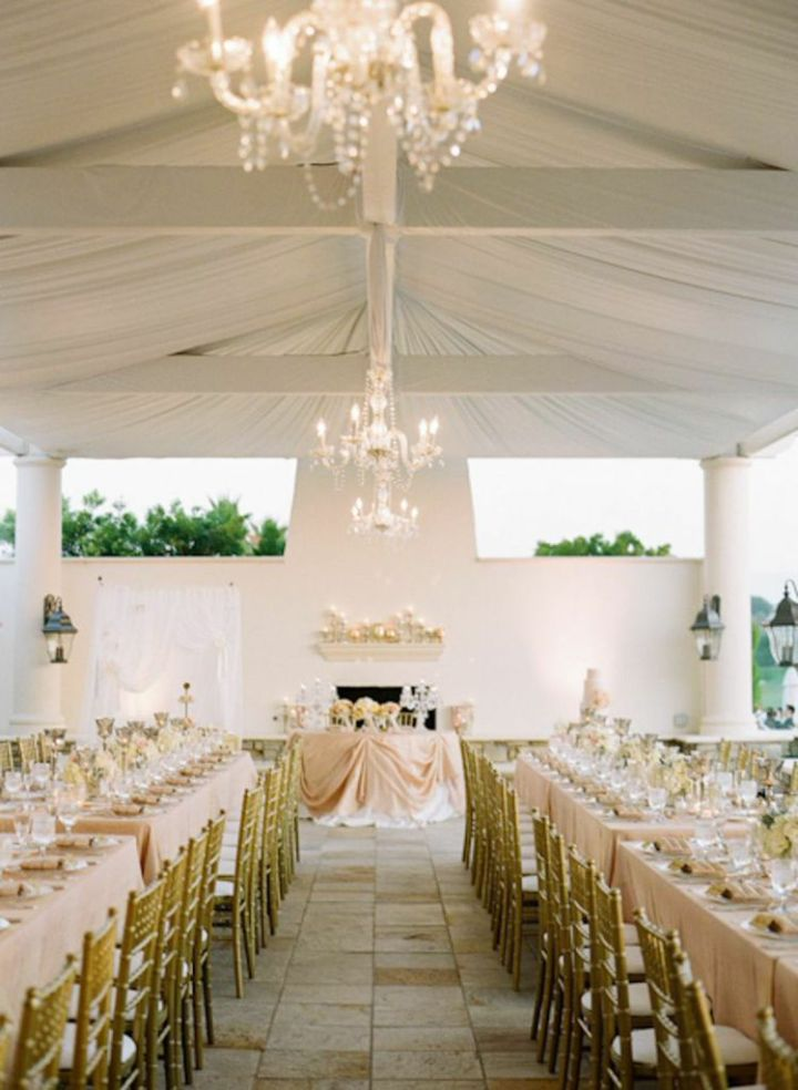 chandeliers - esther sun venue at St Regis Monarch Beach