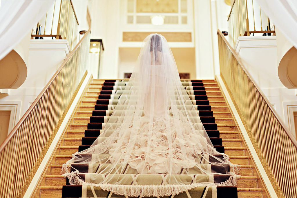 Fabulous High-Fashion Bride Graces the Peninsula Hotel Chicago