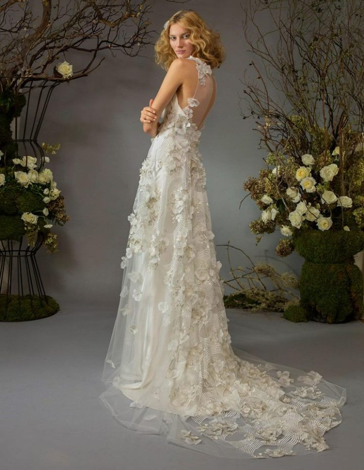 Sexy and romantic elizabeth fillmore wedding dresses for Wedding dresses for outside