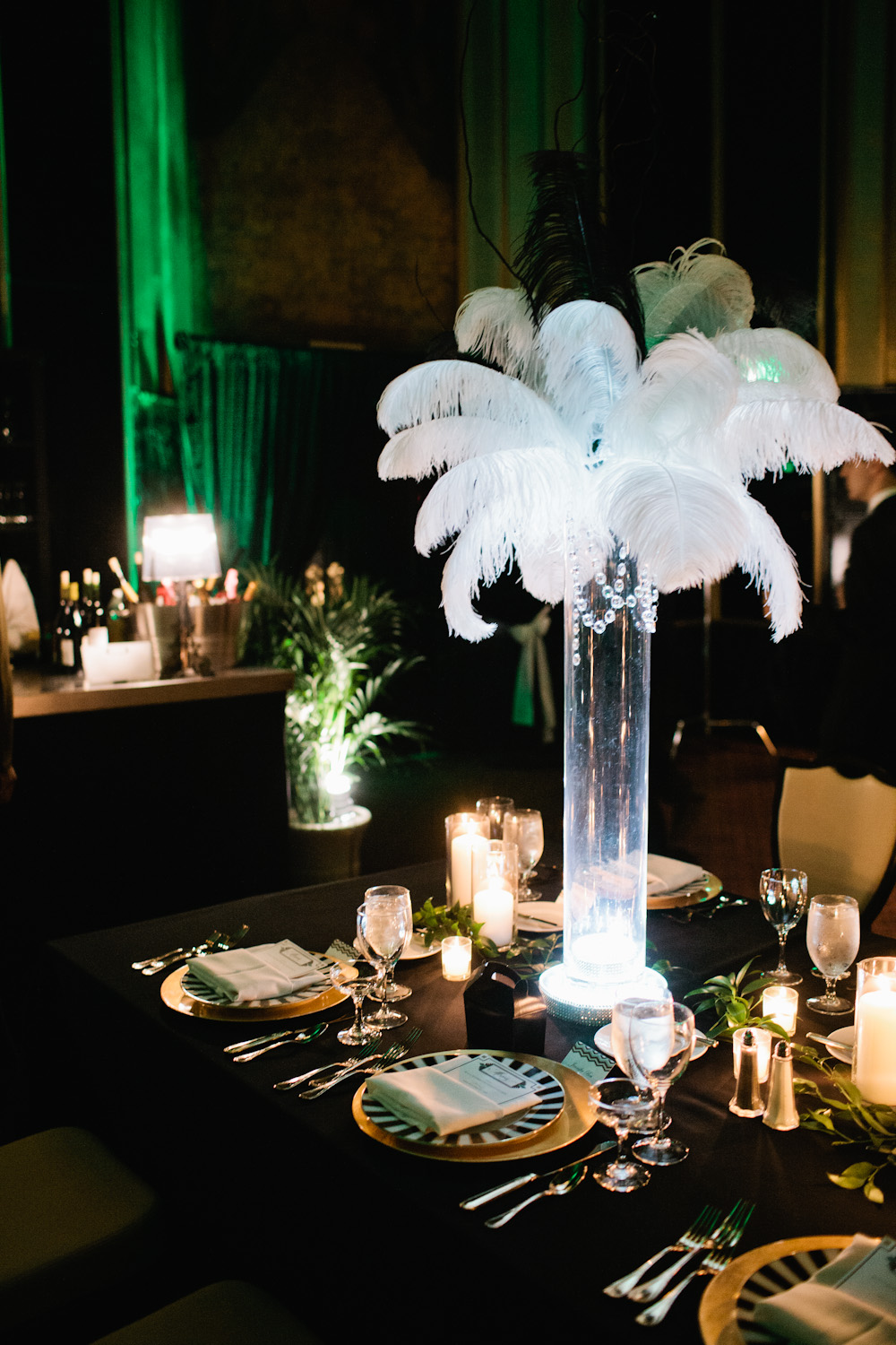 Glamorous pittsburg wedding inspired by the jazz age