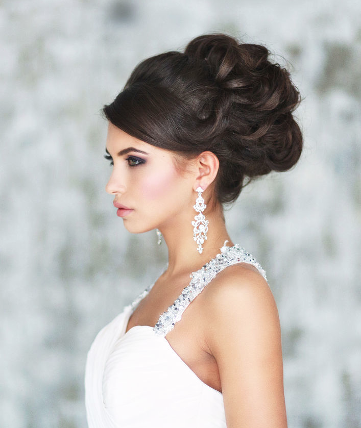 Sophisticated wedding hairstyle inspiration modwedding wedding hairstyle 2 12302014nz junglespirit Choice Image