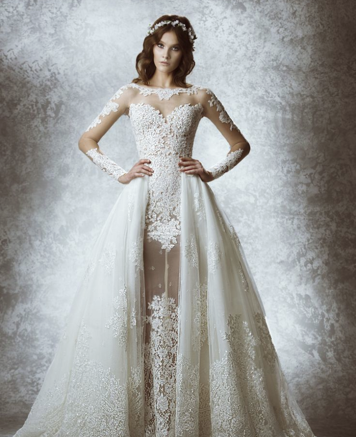 Zuhair murad wedding dresses 2015 fall modwedding for Zuhair murad wedding dresses prices