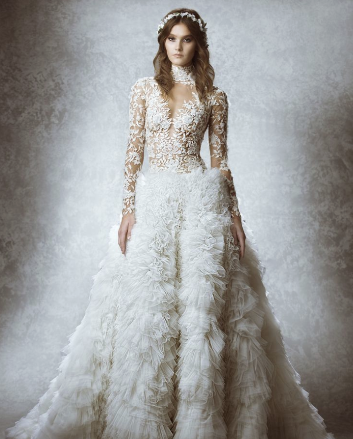 Zuhair Murad Wedding Dresses 2015 Fall - MODwedding