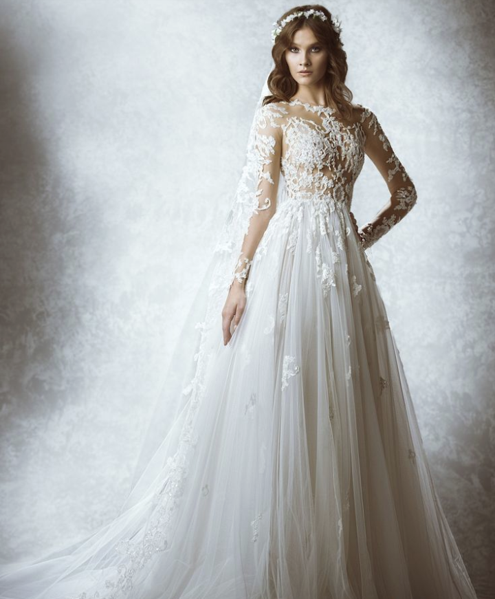 the latest 2015 fall bridal collection of zuhair murad wedding dresses