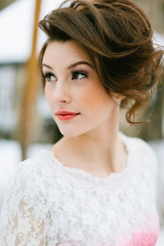 How To Rock The Perfect Wedding Hairstyles For Short Hair Modwedding
