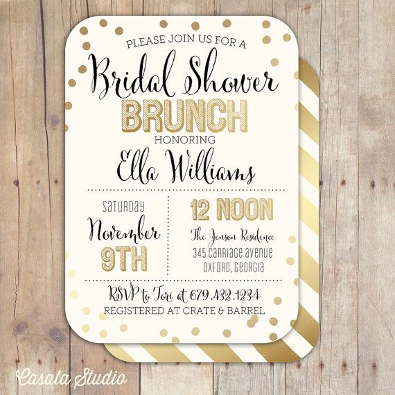 20 Bridal Brunch Ideas for a Perfect Party with the Girls ...