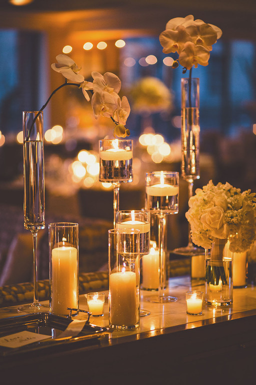 candle wedding decorations a stunning washington dc wedding modwedding 2429