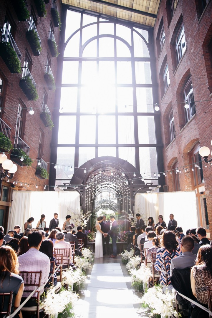 Simply Chic Downtown Seattle Wedding Modwedding
