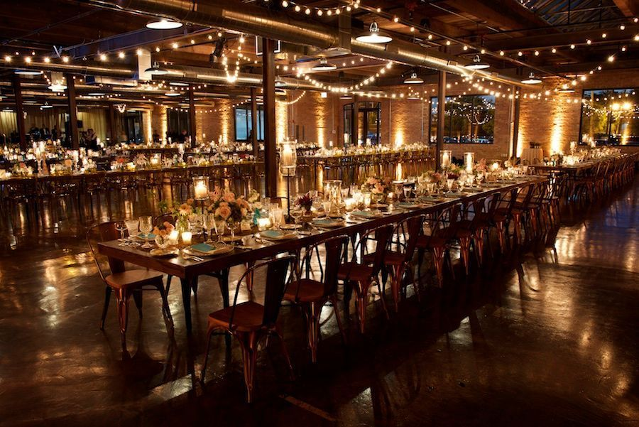 Intimate Chicago Wedding A Rustic Romance At Morgan Manufacturing