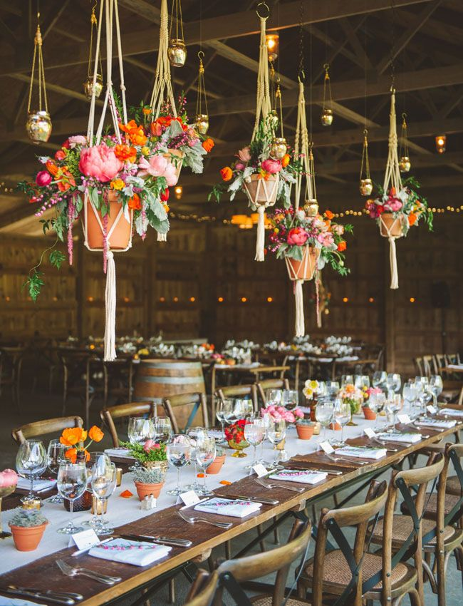 Create beautiful air space with hanging floral wedding ideas wedding ideas 15 01302015 ky junglespirit Gallery