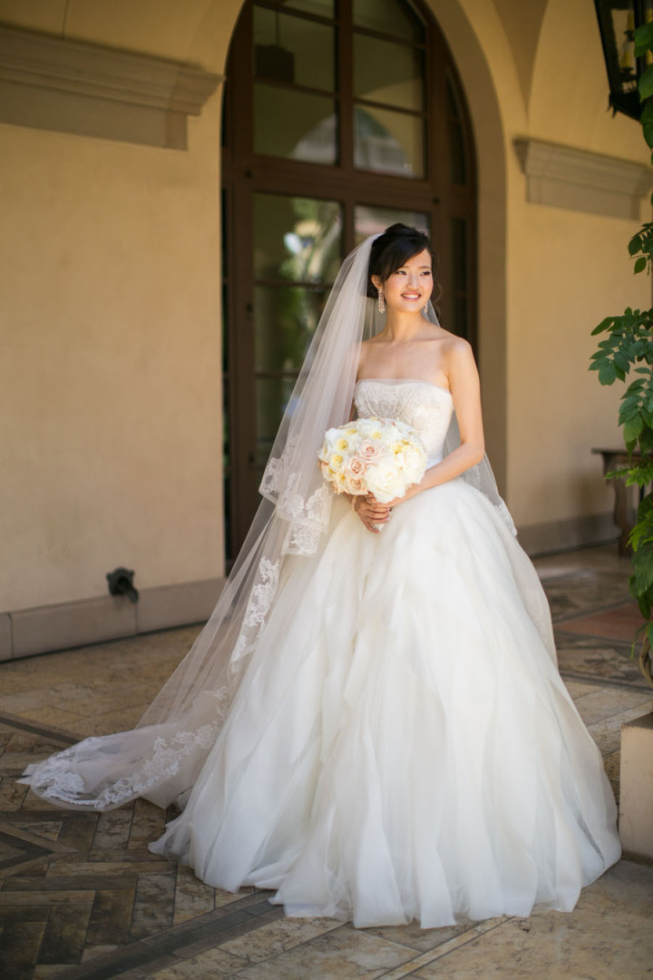 Glamorous beverly hills wedding modwedding for Beverly hills wedding dresses