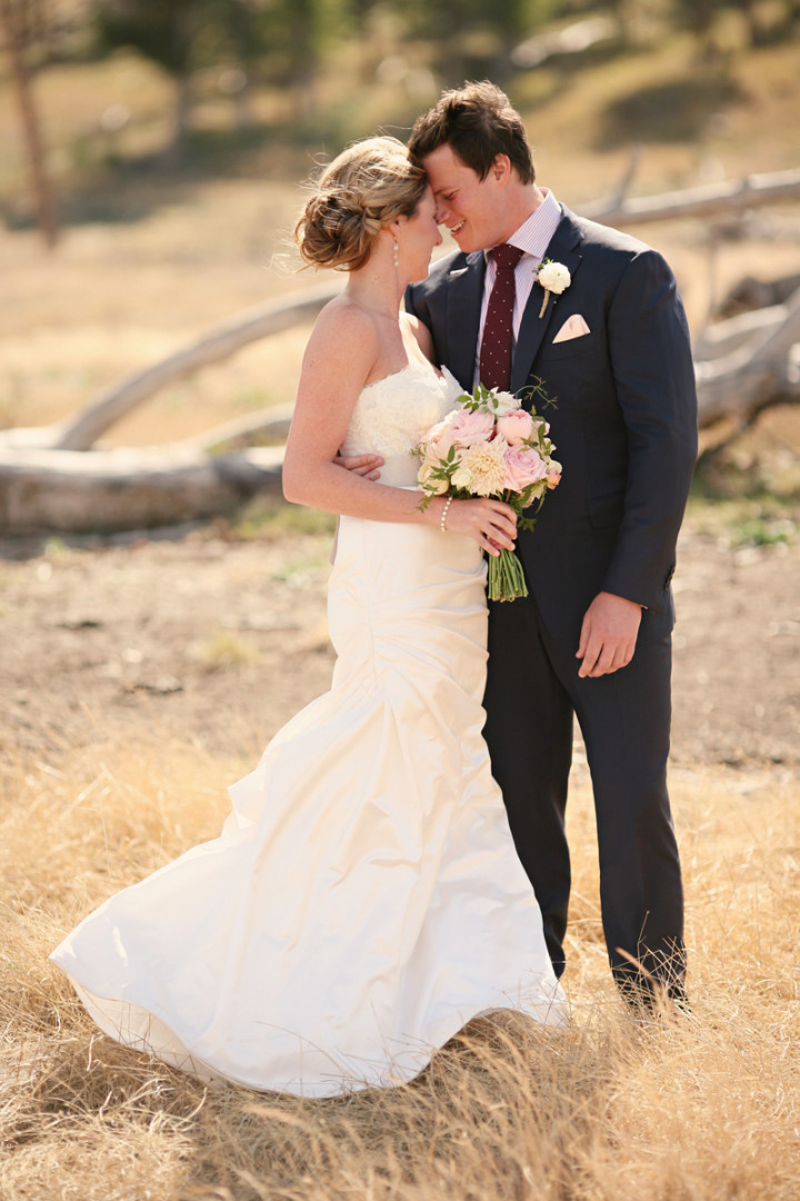 rustic chic montana wedding