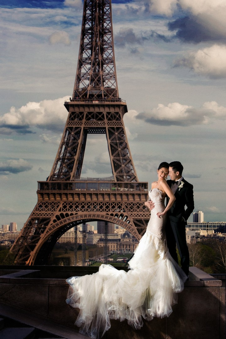 High Fashion Paris Destination Wedding Modwedding