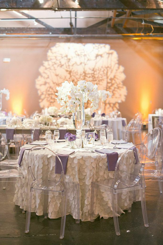 Lavender Industrial Glam Atlanta Wedding At King Plow From