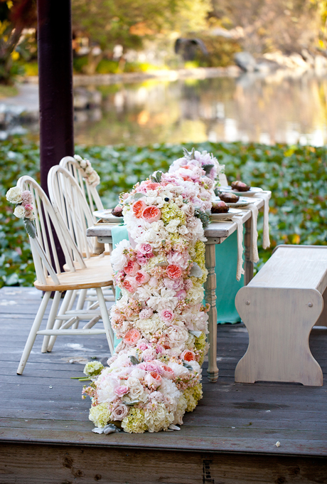 Wedding ideas gorgeous table runner centerpiece designs